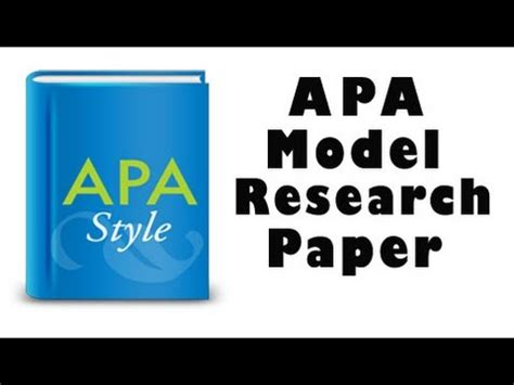 APA Style Essay Guidelines for Using APA style in Your Papers